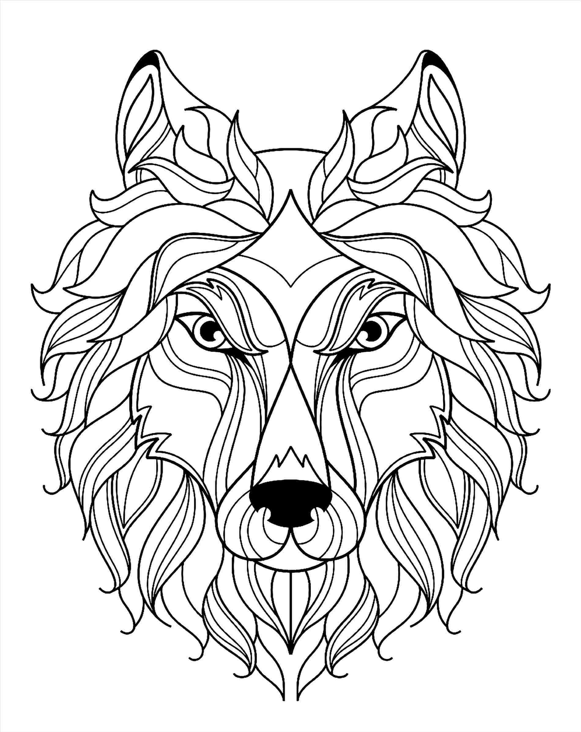 1899x2393 Face Drawing Easy High Quality Rhclipartxtrascom Collection Wolf