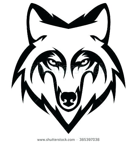 450x470 Printable Wolf Mask Animal Mask Drawing At Free For Personal Use