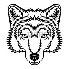 236x236 Best Wolf Heads Images Wolf Drawings, Wolves, Sketches Of Animals