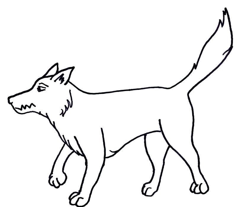 804x698 big bad wolf drawing big bad wolf
