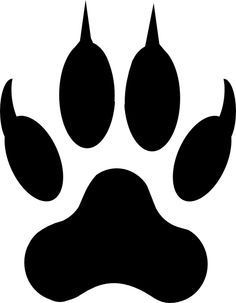 236x303 Claws Out Tattoos In Wolf Paw Print, Wolf Paw, Tiger Paw