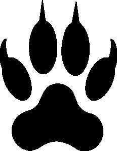 231x297 Wolf Paw Print Md Like Drawing