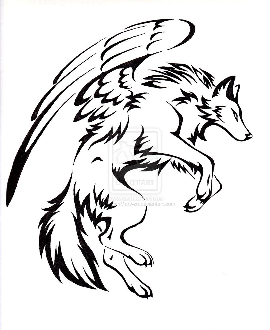 Wolf Tattoo Drawing Free Download Best Wolf Tattoo Drawing