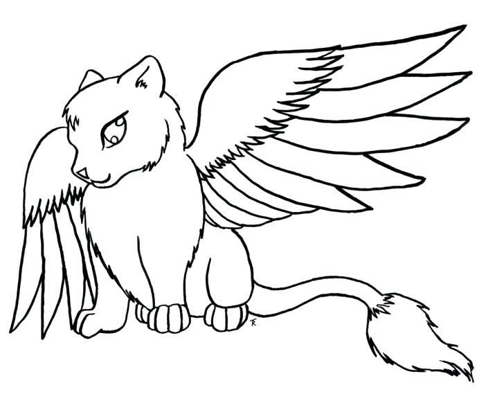 Wolf With Wings Drawing Free Download Best Wolf With Wings