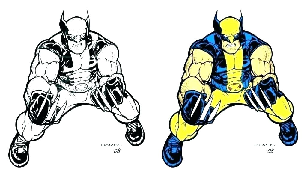 1024x614 wolverine coloring pages printable and wolverine coloring pages
