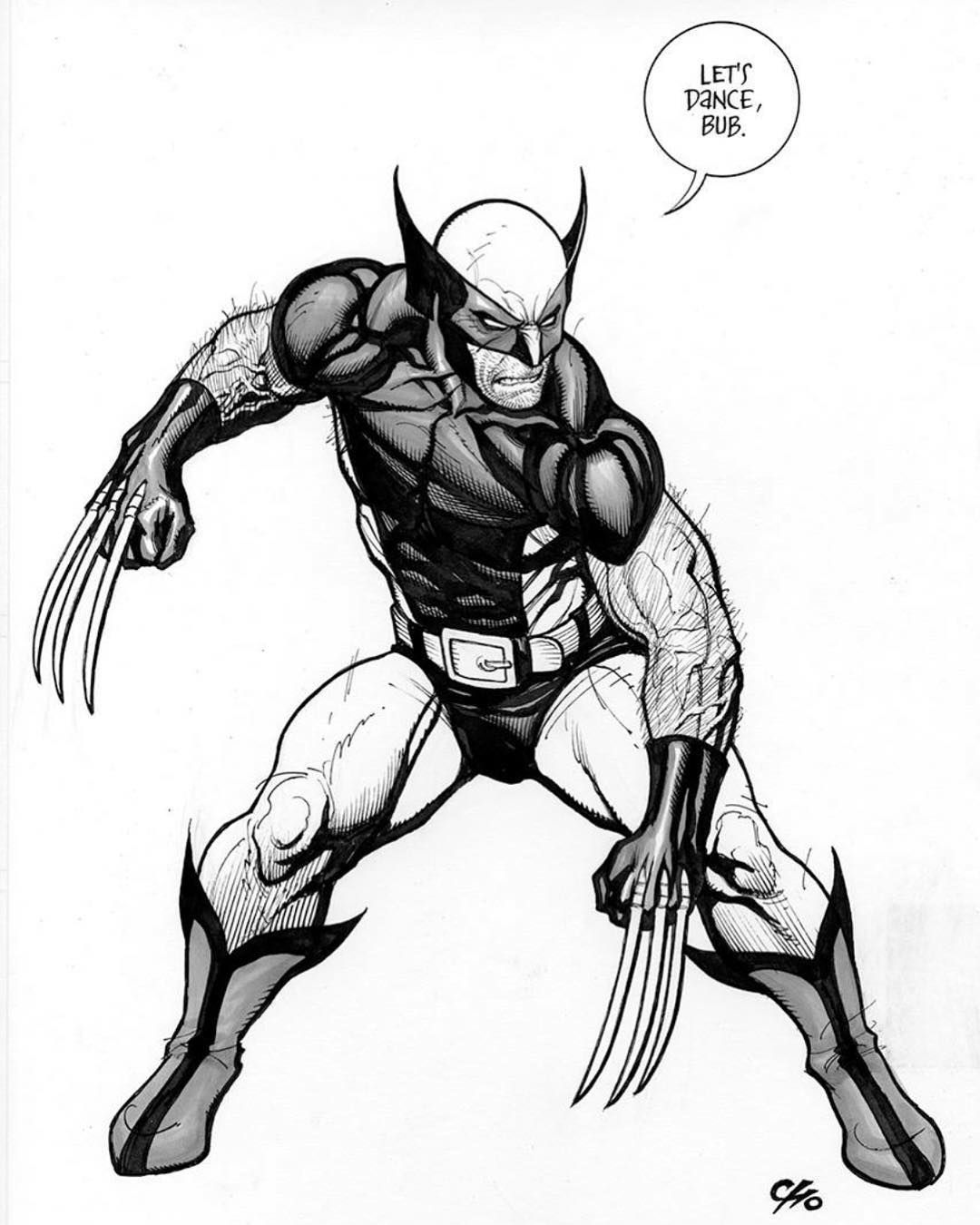 da373384f33 Wolverine Drawing   Free download best Wolverine Drawing on ...