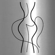 190x190 Abstract Woman Body Line Drawing Travel Mug Spreadshirt