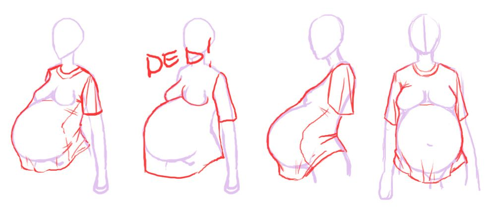 1000x419 Relevant Content How To Draw The Pregnant Woman Draw