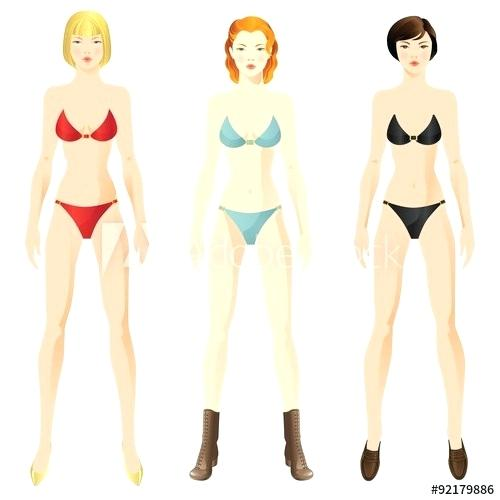500x500 Fleshing Out Templates Woman Body Drawing Template Woman Body