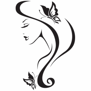320x320 Hd Clip Art Royalty Free Library Abstract Woman Drawing