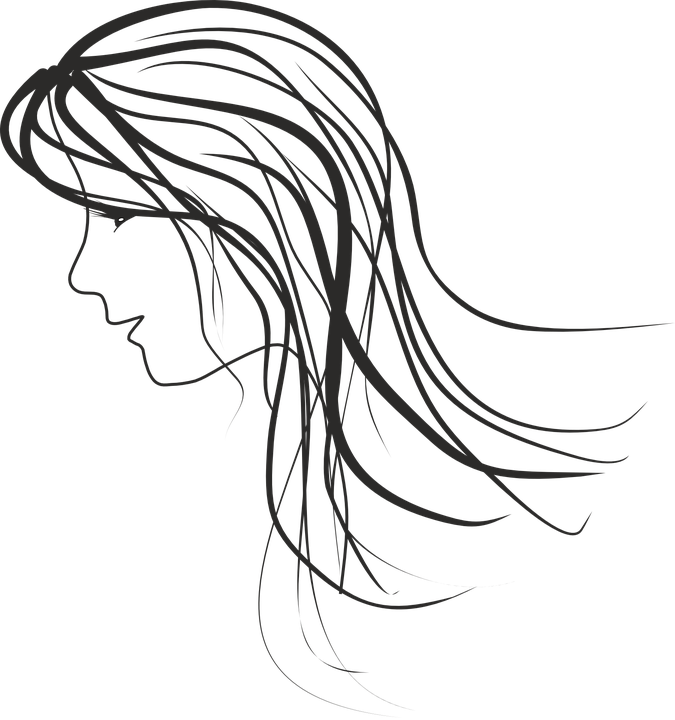 675x720 Collection Of Free Drawing Outline Female Face Download On Ui Ex