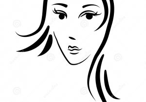 300x210 woman face sketch image download beautiful woman face drawing