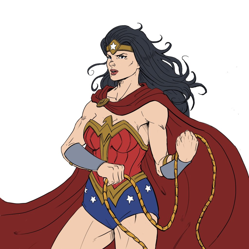 1024x1024 Ways To Draw Wonder Woman From Beginner To Advance Level