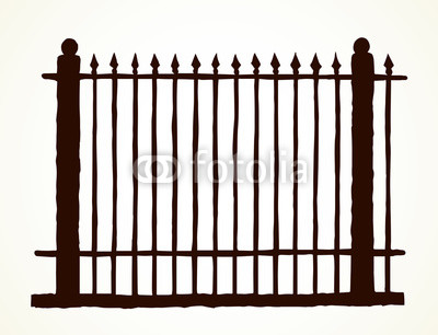 400x306 Fence Vector Drawing Buy Photos Ap Images Detailview