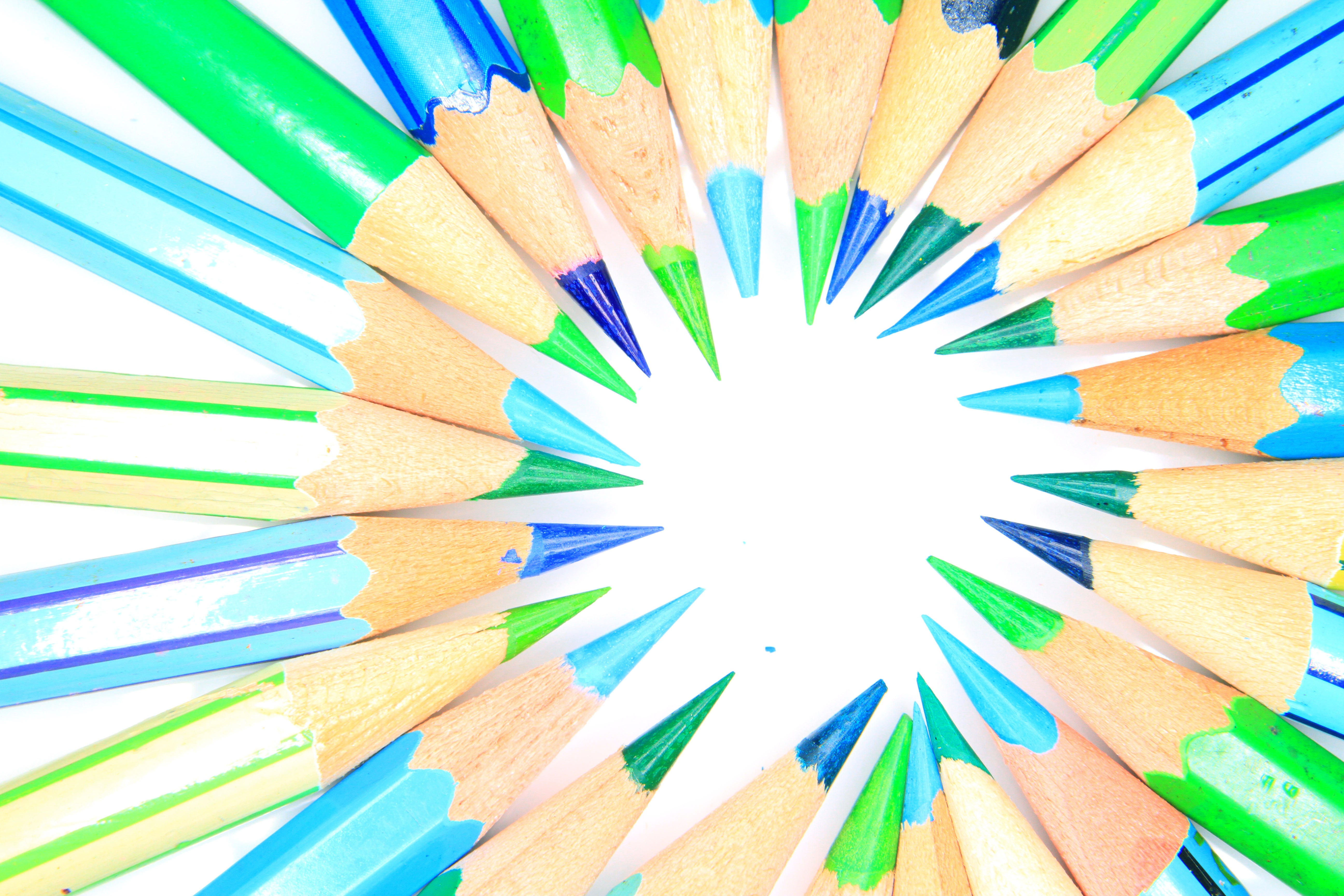 5184x3456 Free Images Sharp, Group, Wood, White, Row, Pen, Tool, Orange