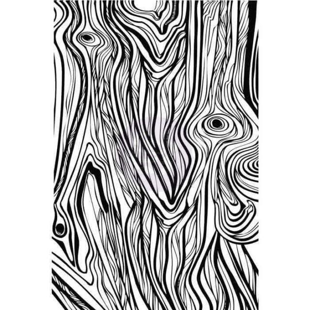 640x640 Prima Cling Stamp Fine Wood Design Ebay