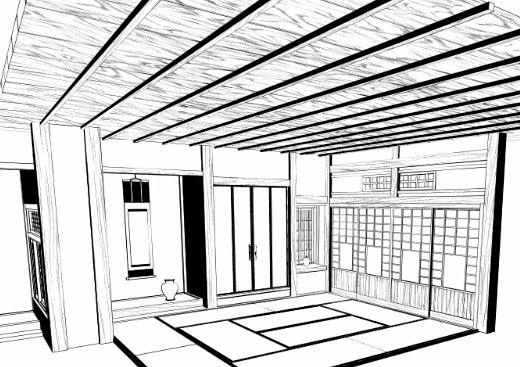 520x367 Wood Pattern Type Brushes Manga Materials