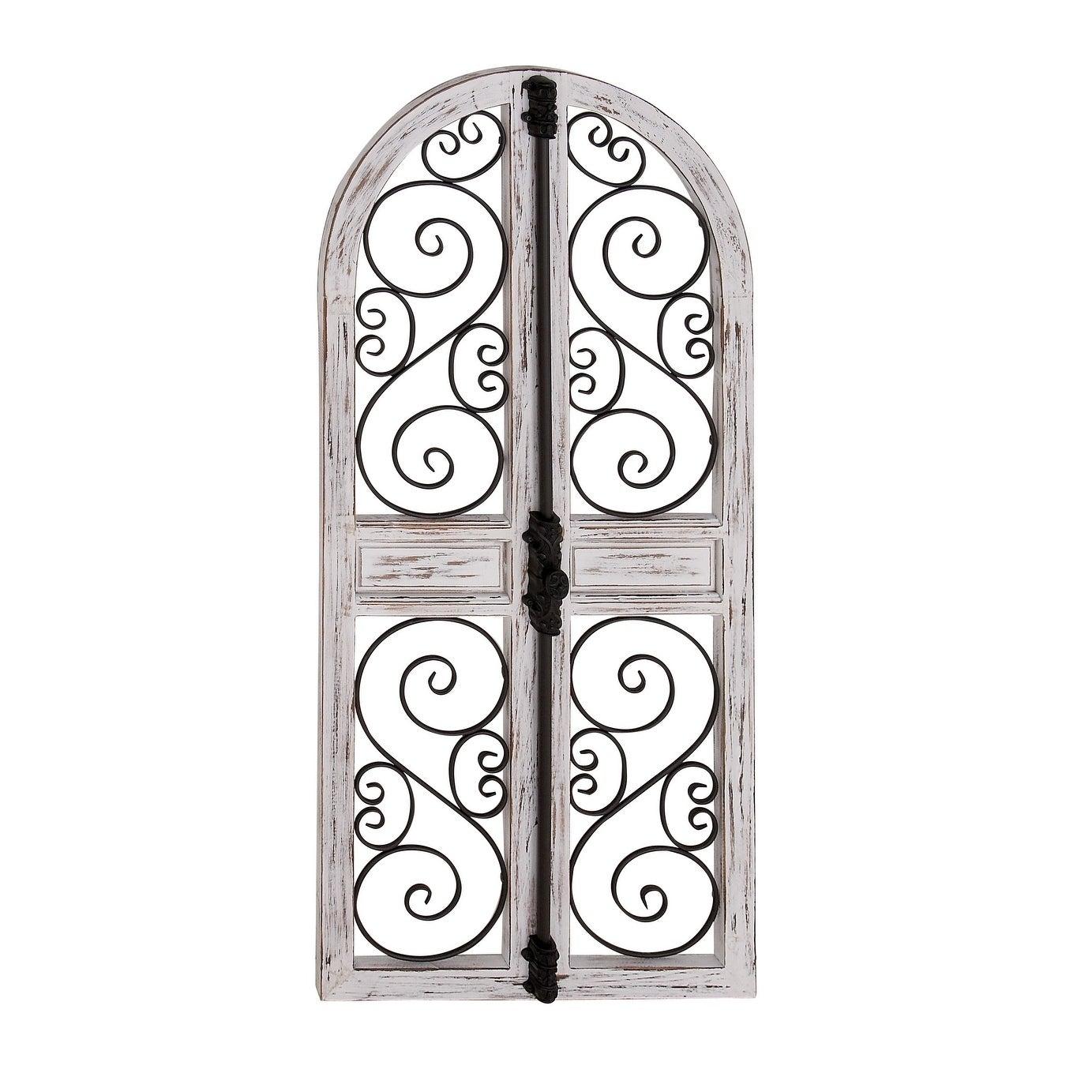 1383x1383 Shop Farmhouse X Inch Wood And Iron Door Style Wall Decor