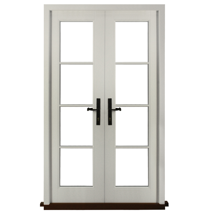 700x700 Timber French Patio Doors