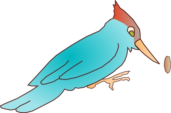 594x394 Woodpecker Clip Art Free Vector In Open Office Drawing