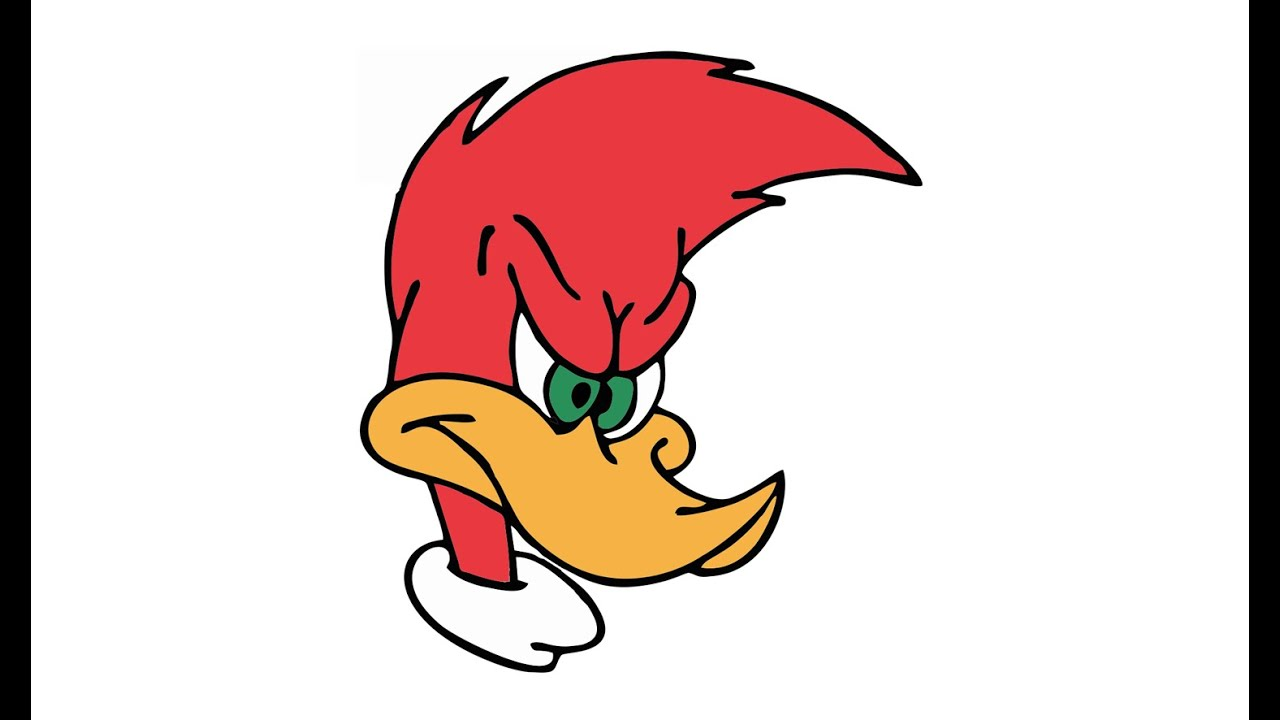 1280x720 How To Draw Woody Woodpecker