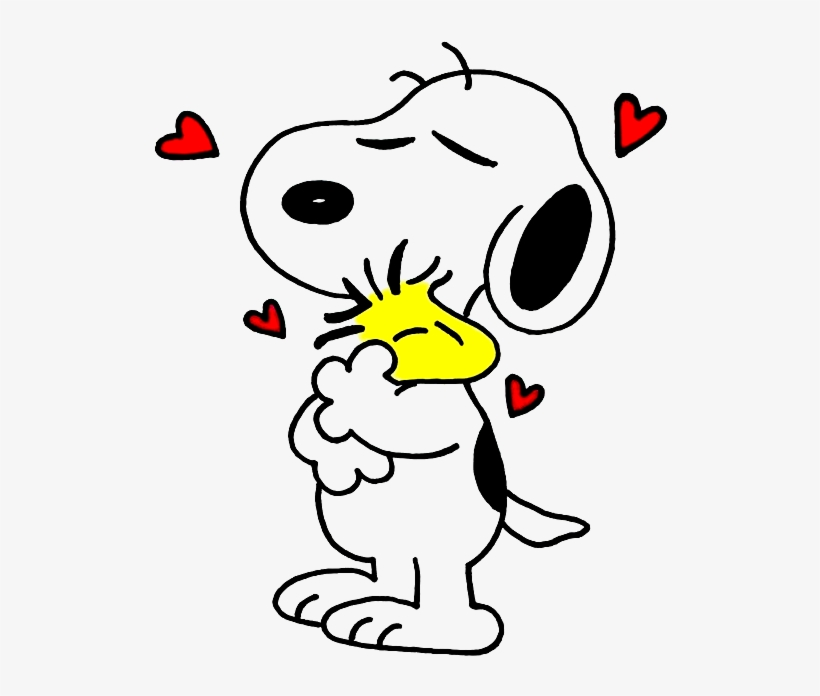 820x696 Snoopy And Woodstock Drawing Hugging