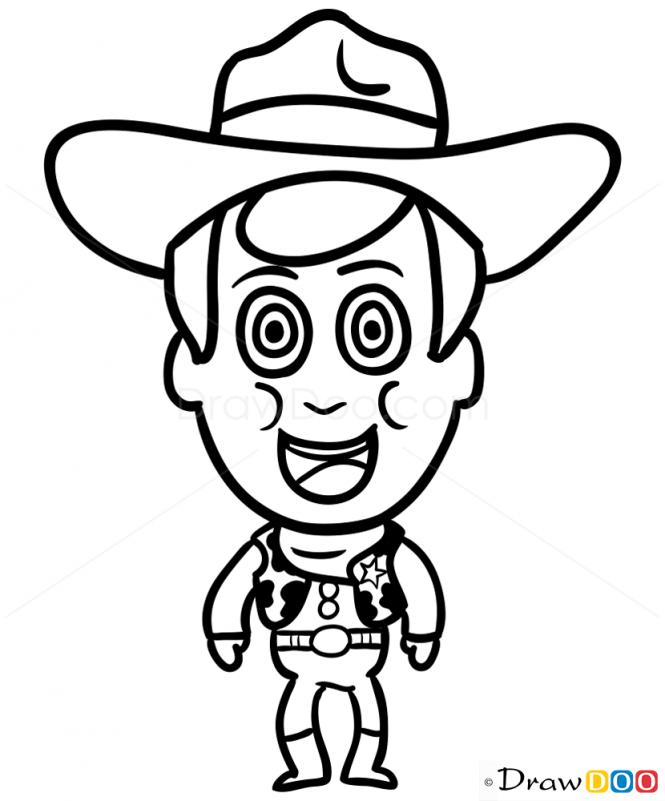 665x801 how to draw sheriff woody, chibi linus's stuff sheriff woody