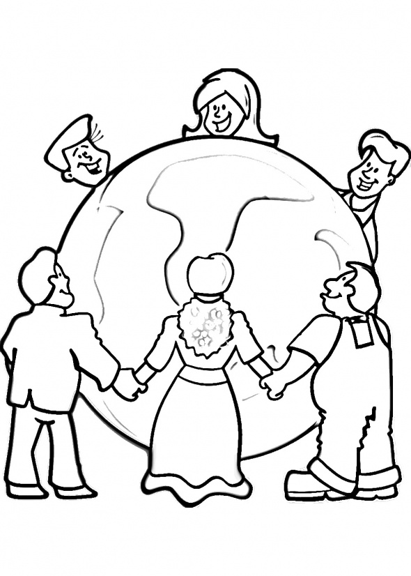590x826 Hes Got The World In His Hand Clipart Collection