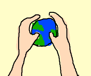 300x250 World Be In Your Hand Fun Pics Images