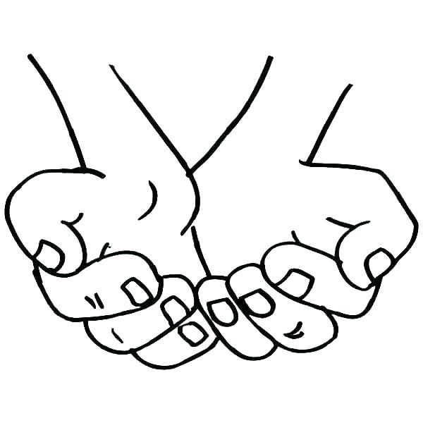 600x627 Coloring Pages Hand Color