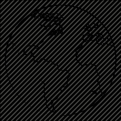 512x512 Globe, Map, Office, World Icon