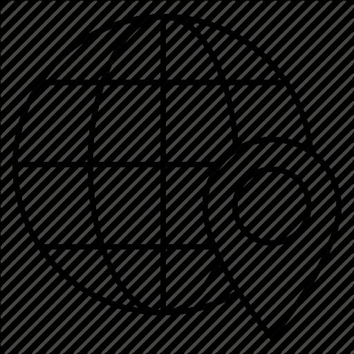 512x512 Location, Map, World Icon