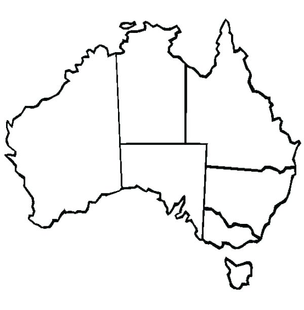 600x612 Coloring Pages World Map