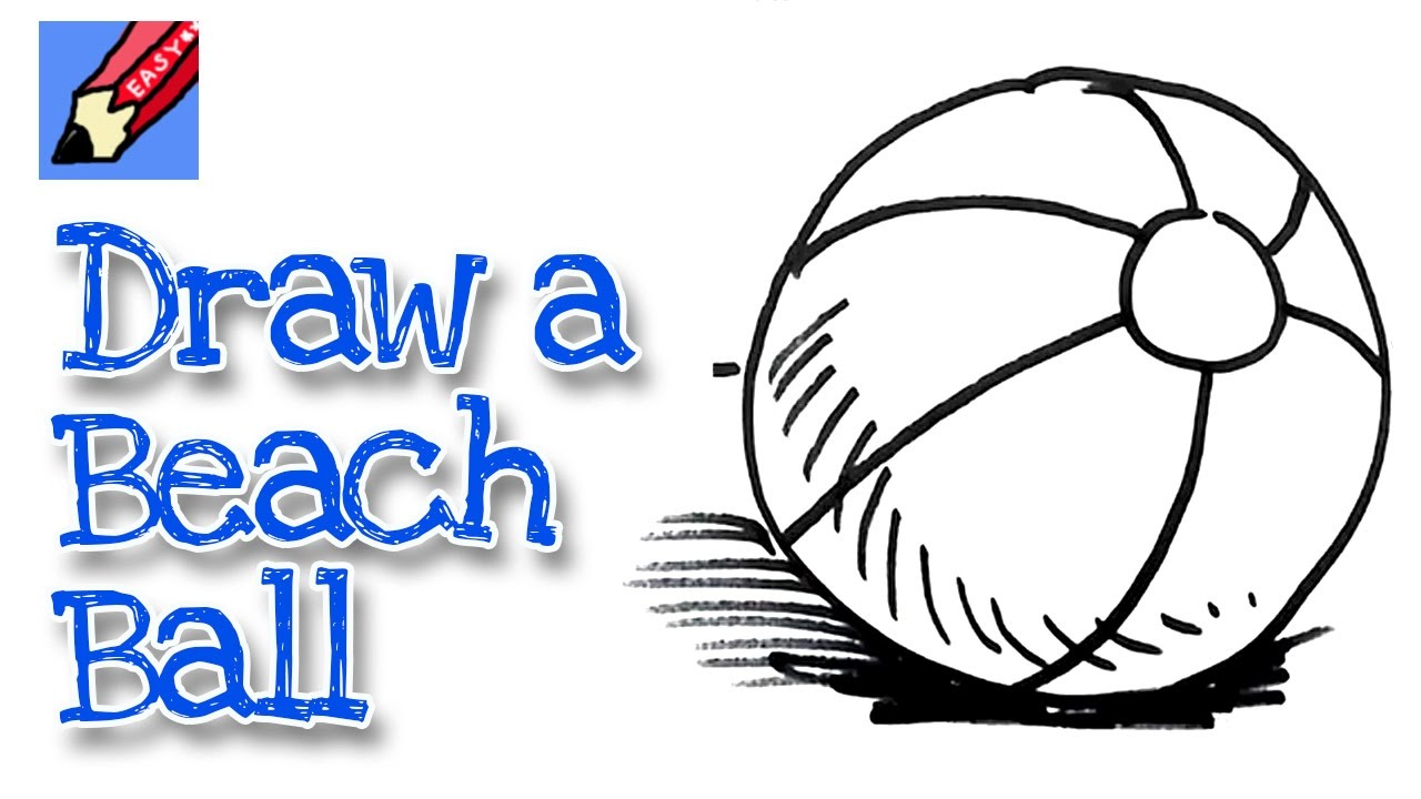 1280x720 how to draw a beachball real easy