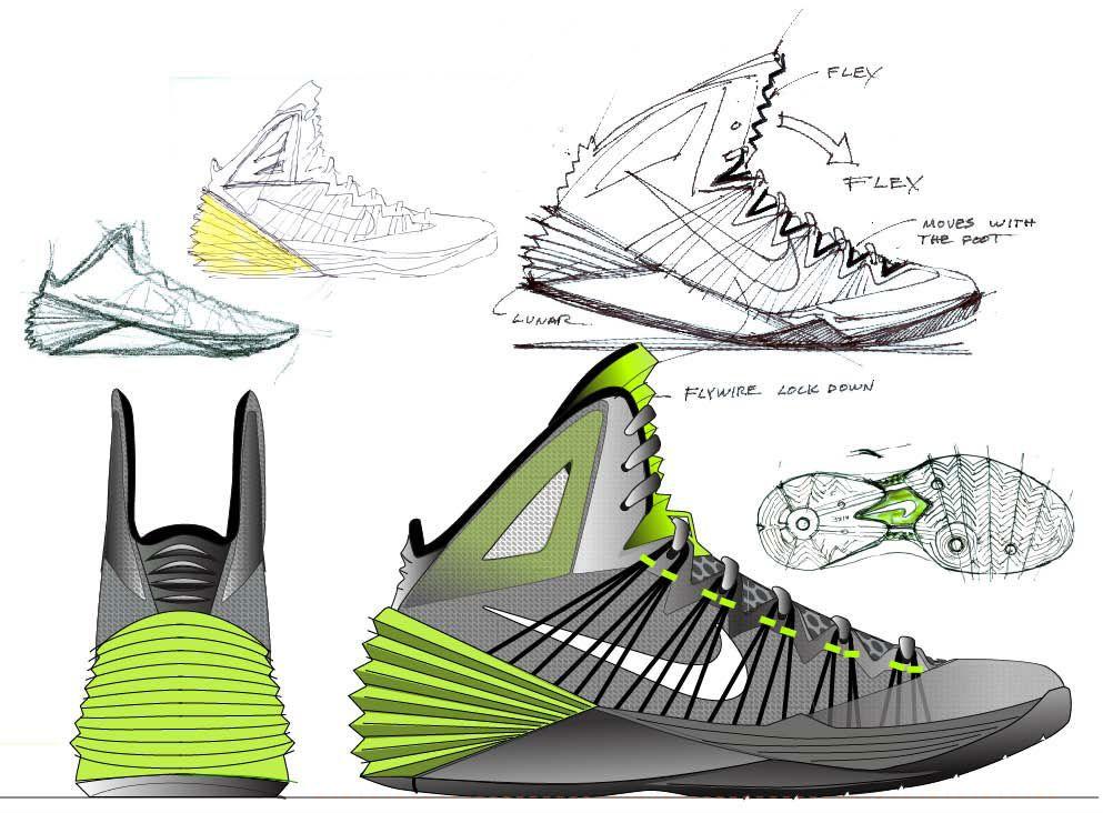 993x732 Introducing The Nike Hyperdunk Sketch Footwear Design