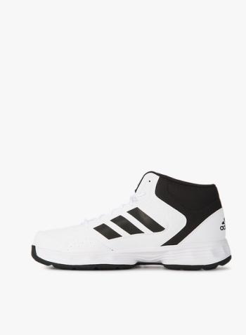 350x477 Adidas Adi Rib White Basketball Shoes For Men