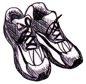 360x350 Collection Of Free Sneaker Drawing Illustrated Download On Ui Ex