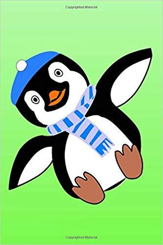 333x499 notebook notebook write draw penguin themed notebook handy