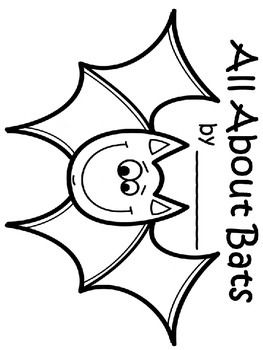 263x350 Free Bat Writing Template Craft With Lines My First Grade Class