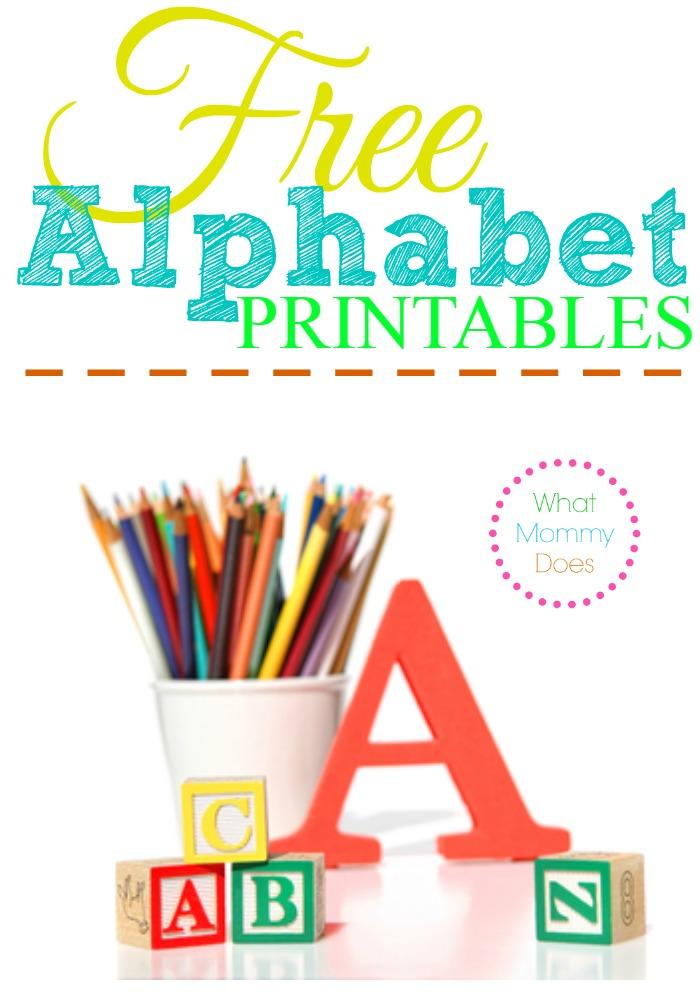 700x1000 Free Alphabet Printables Letters, Worksheets, Stencils Abc