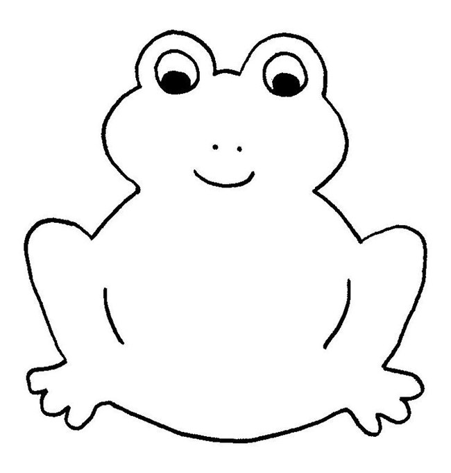 650x681 Frog Template