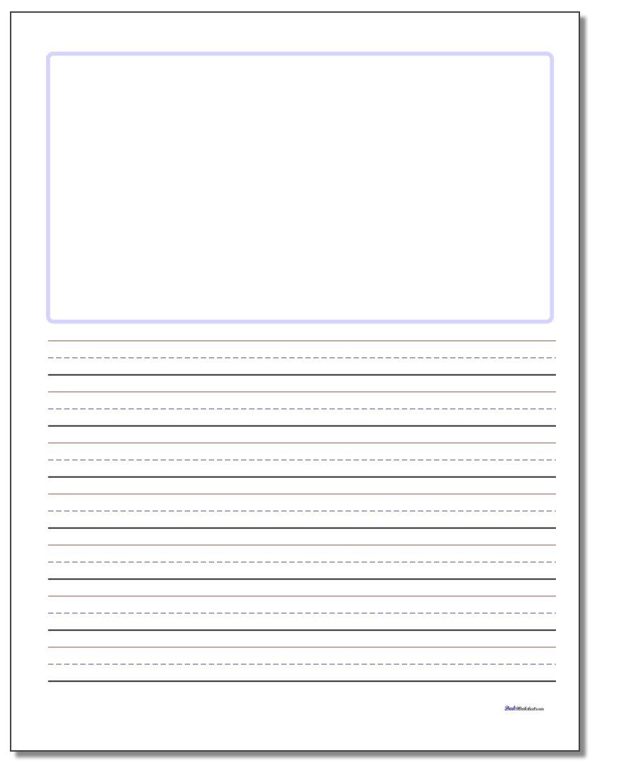 880x1100 Handwriting Paper