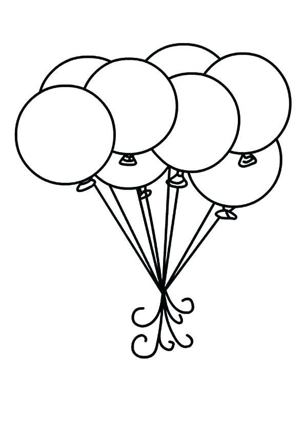 595x842 Balloon Drawing Writing For Free Download