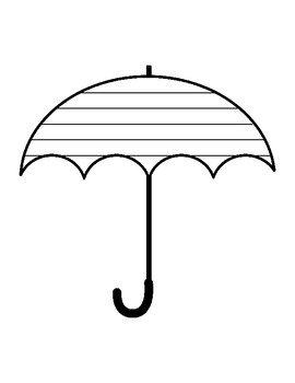270x350 Umbrella Template Worksheets Teaching Resources Tpt