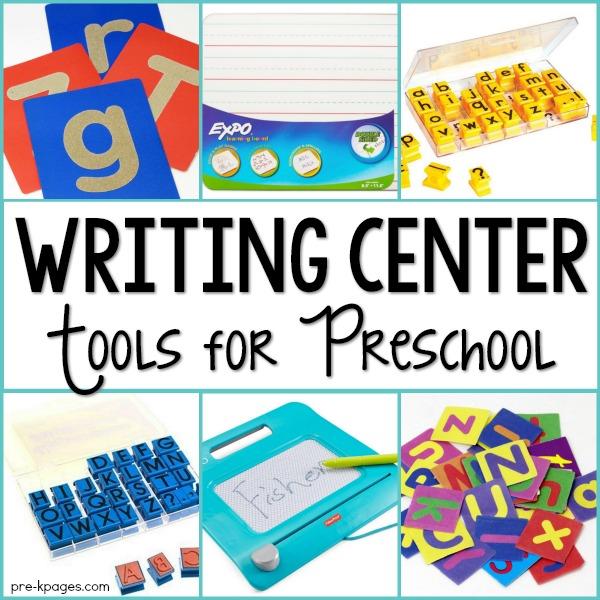 600x600 Writing Center For Preschool And Kindergarten