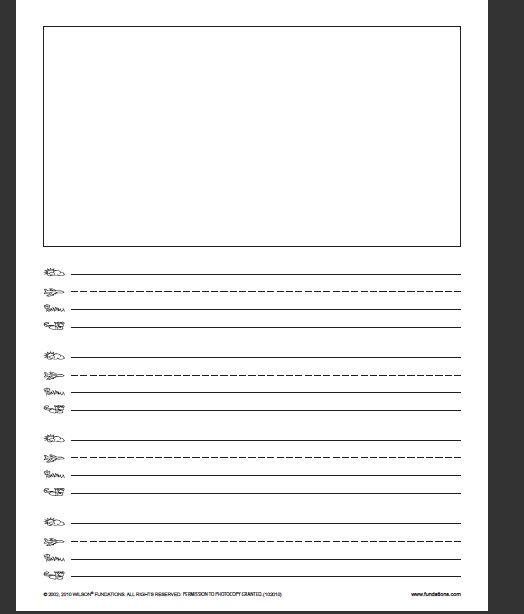 524x614 Writing Paper Teach Using A Skyline, Plane Line, Grass Line