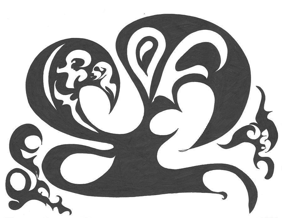 900x695 Dancing Wu Tang Masters Drawing