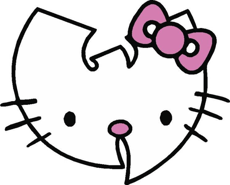 744x600 Free Vector Hello Kitty Wu Tang Vector Illustrationfree Vectors