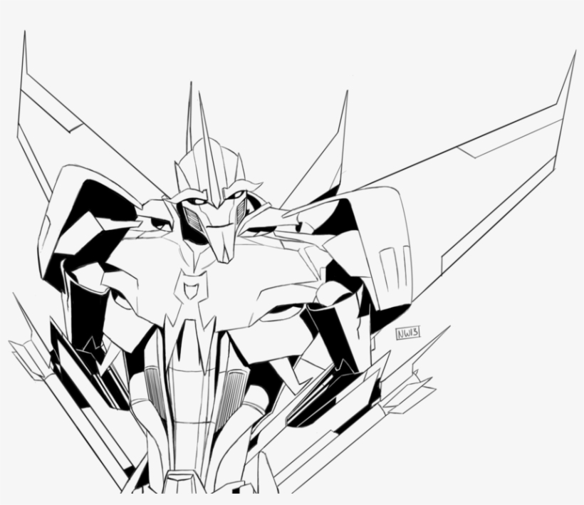 820x709 Cornfield Drawing Starscream
