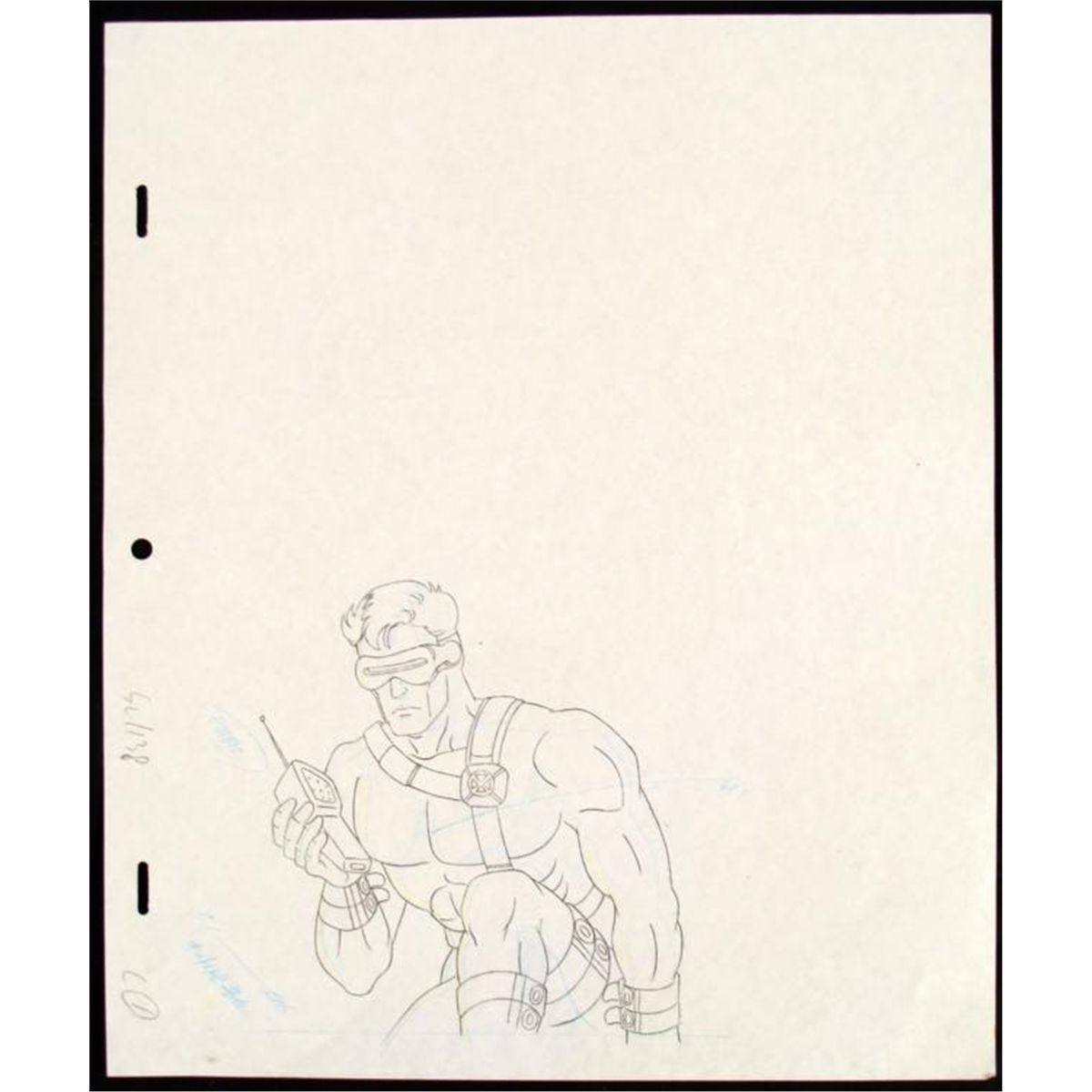 1200x1200 Cyclops Original Drawing Production X Men Phoning Help